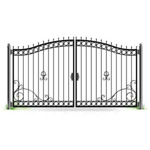 Ворота кованые№062