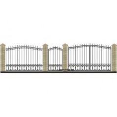 Забор кованый №038