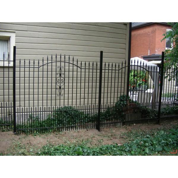 Забор кованый №065 В Чаусах