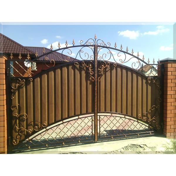 Ворота кованые  №097