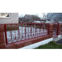 Забор кованый в Минске Z102