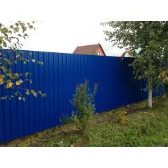Забор из профнастила №2 в Могилеве (высота 1.5м.)