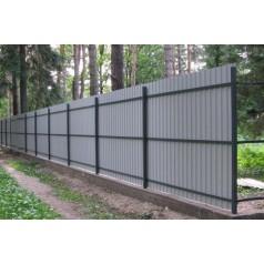 Забор из профнастила в Кричеве