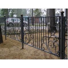 Кованый забор в Гомеле №0146