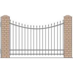 Кованый забор №0221