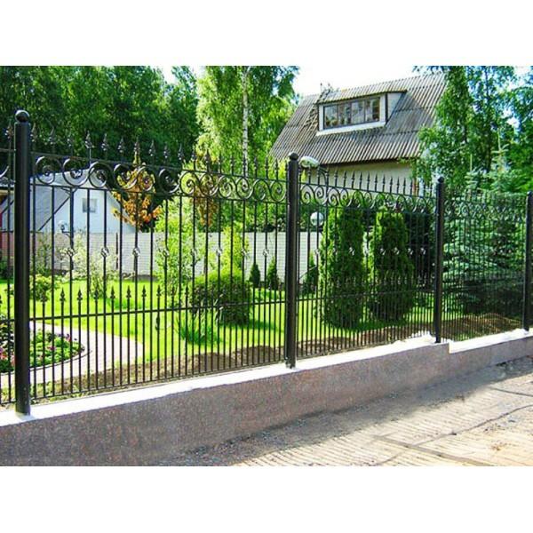 Кованый забор в Беларуси №0142