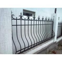 Кованый забор в Гомеле  №0143