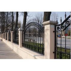 Забор кованый №305 в Минске
