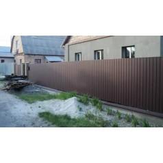 Забор из металлопрофиля в Могилеве,Гомеле