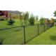 Забор из сетки рабица 1.5 метра