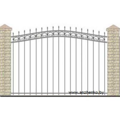 Забор кованый №0223