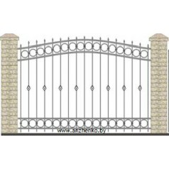 Забор кованый №0227