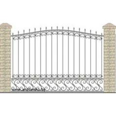 Забор кованый №0231