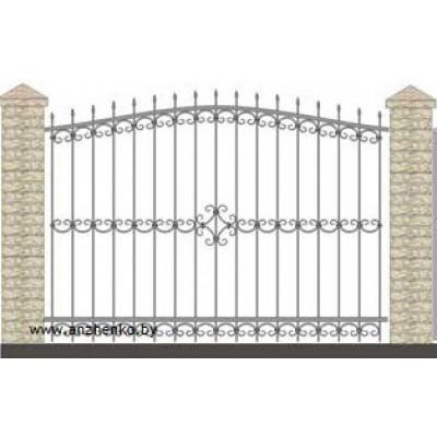 Забор кованый №0232