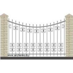 Забор кованый №0234