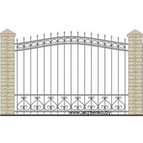 Забор кованый №0235